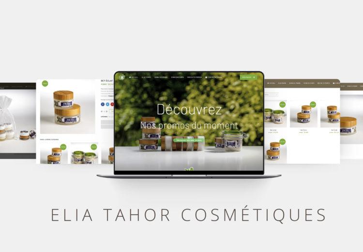 Site E-commerce Elia Tahor cosmetiques