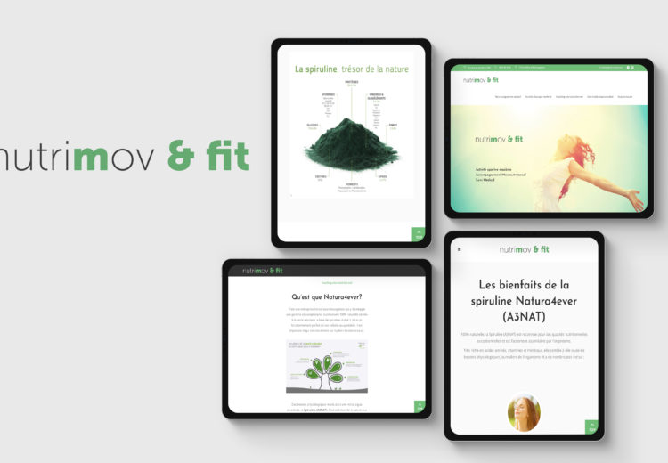 Website Nutrimov et Fit