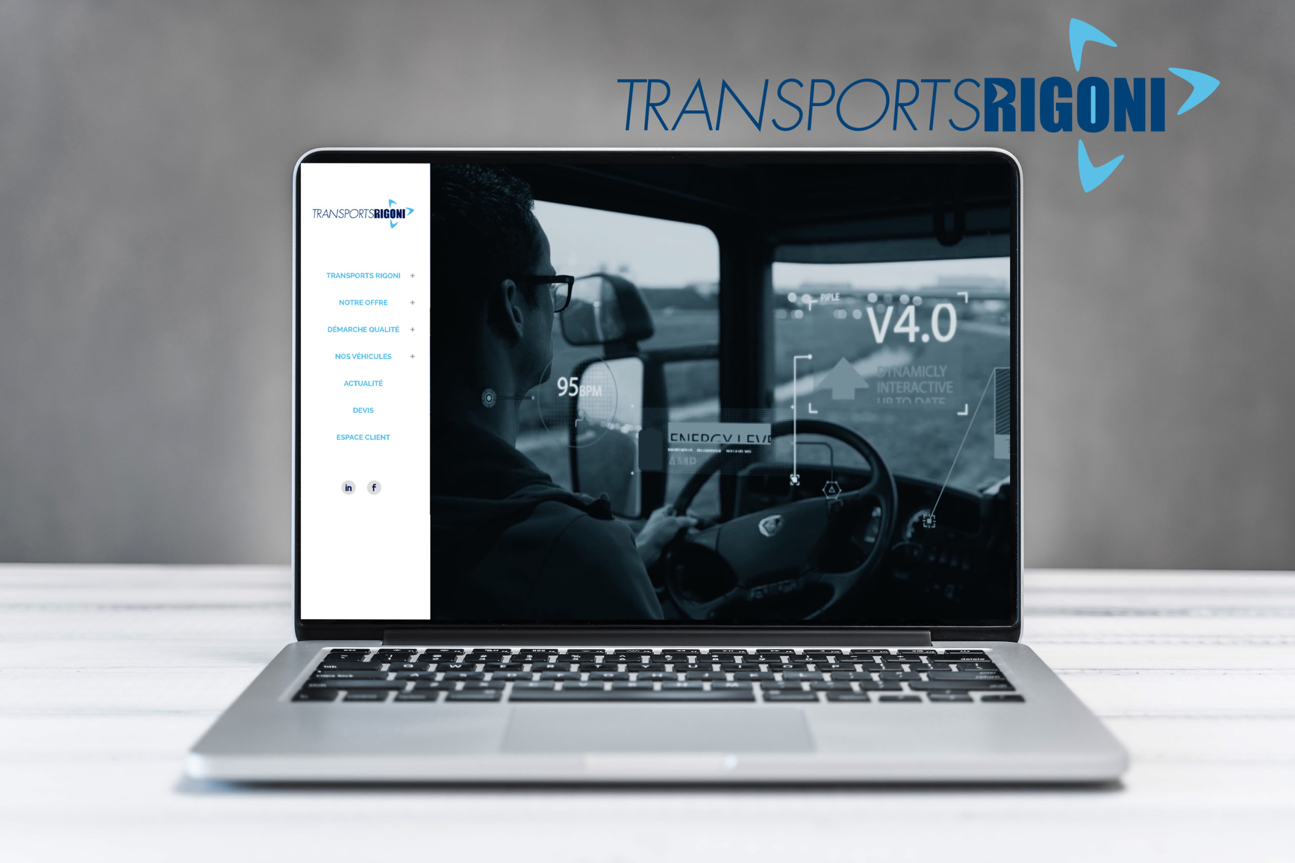 Site internet des Transports Rigoni